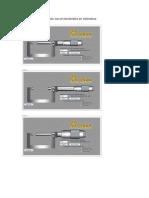 Ejemplos de medición con el micrómetro en milímetros