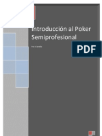 Introduccion Al Poker Semiprofesional Por Juan Carreno