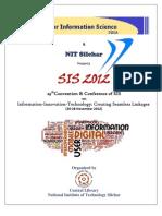 Brochure SIS2012