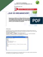 Semana 1 Dreamweaver