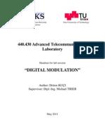 Detailskriptum Zur Ubung Digital Modulation