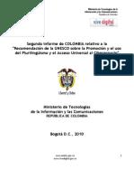 II Reporte Colombiano