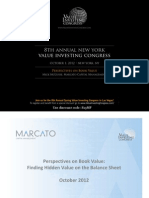 Mick McGuire Value Investing Congress Presentation ~ Marcato Capital Management