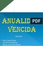 Anualidad Vencida Expo