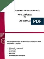 1. Procedimientos de Auditoria