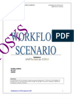 PO Change - SAP Workflow Scenario