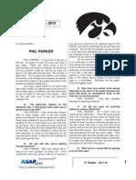 P  Parker - 10 2 12