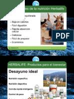 Productos Herbalife Despues Charla Nutricion. Diapositivas