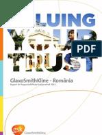 Gsk Raport de Sustenabilitate 2011