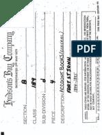 FSJ Post Trading Accounts 1894-1895