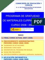 Presentacion Gratuidad 2008 Cps