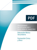 FCyE Secundaria