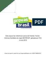Gabarito Analista Trainee Ciencias Contabeis Metro Sp 2010 Fcc
