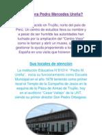 Quién era Pedro Mercedes Ureña