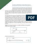 Lineas de Influencia en Estructuras Isostaticas