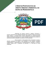 Plano Diretor Rondonopolis