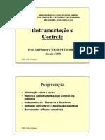 Instrumentação e Controle de Processos