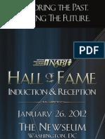 2012 NABJ HOF Program Guide