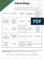DebateFest Bingo 05