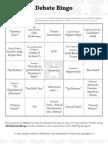 DebateFest Bingo 12