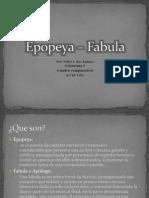 Epopeya – Fabula(cuadrocomparativo)