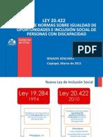 LEY 20.422 Mesa de La Discapacidad 14.03.2012 Clase 8