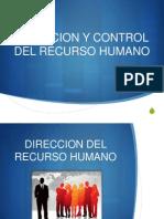 Direccion y Control Del Talento Humano