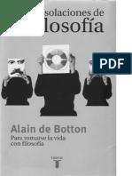 Las Consolaciones de La Filosofia Alain de Botton