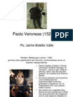 Paolo Veronese ¨El veronés¨,  (1528-1568). Ps. Jaime Botello Valle
