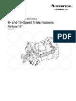 Transmisión Meritor 9 y10 Velocidades mm99106