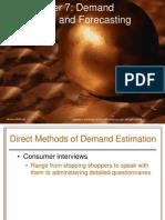 Chap007 Demand Estimation n Forecasting