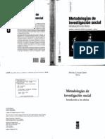 Canales. M. Metodologías de Investigación Social