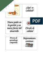 DOMINÓ DE CALIDAD