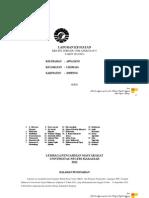 Laporan KKN-PPL Kelurahan Appanang Kecamatan LIliriaja Soppeng