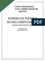 Numero de Puertos de Una Computadora