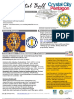 September 26, 2012 Weekly Bulletin - Crystal City-Pentagon Rotary Club