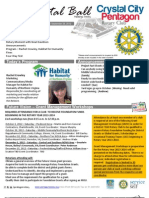 October 03, 2012 Weekly Bulletin - Crystal City-Pentagon Rotary Club