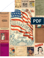 American Literature in Magazines 1790's - 1950's