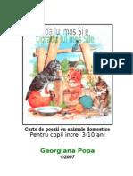 Carte cu Animale, poezii pt copii