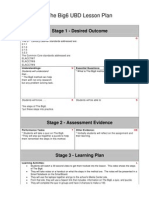 The Big6 Understanding by Design Lesson Plan