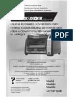 Manual Rotisserie Black&Deker