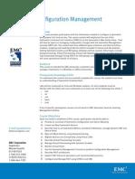 Symmetrix Configuration Management