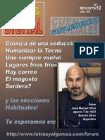 Revista Digital Nº 10 Octubre de 2012 - Letras y Algo Más