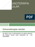 Inmunoterapia Celular