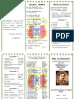 Programa Aniversario 2012-I.E.P. Martir de la Medicina- DAC