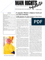 Human Rights update 2009 - May