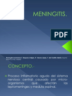 Meningitis Pediatrica