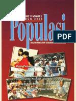 Populasi Volume 11, Nomor 1, Tahun 2000