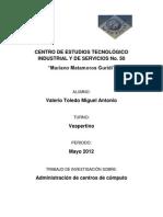Administración de centros de cómputo