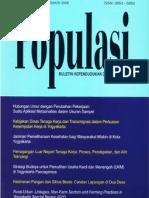 Populasi Volume 17, Nomor 1, Tahun 2006